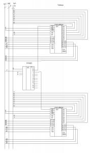 Схема подключения таймеров К1810ВИ4 155ИД1