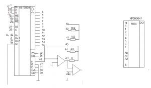 подсистема ввода информации КР590КН1 К572ПВ1
