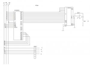 Подсистема вывода информации 155ЛН1 КП580ВВ55 572ПА2