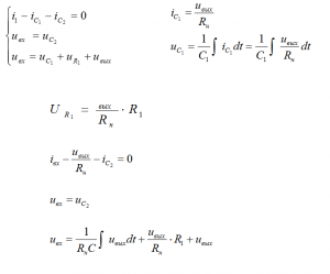 Запишем уравнения Кирхгофа