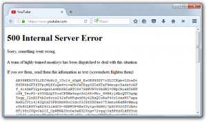 500 Internal Server Error    Sorry, something went wrong.   A team of highly trained monkeys has been dispatched to deal with this situation.  If you see them, send them this information as text (screenshots frighten them): AB38WENJY...