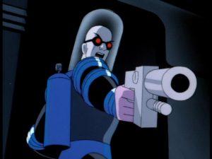 Мистер Фриз из мультсериала про Бэтмена