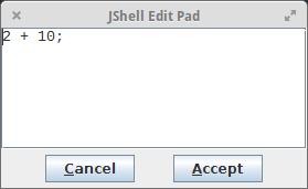 JShell Edit Pad