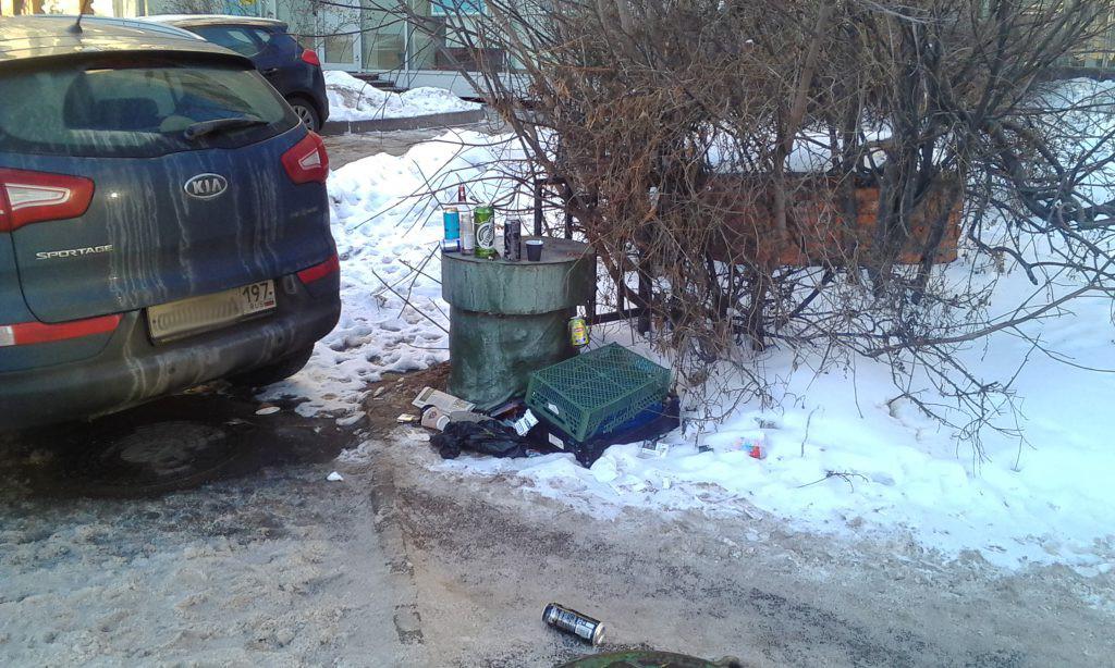 Москва. Алкаши.