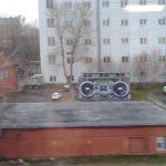 Огромный магнитофон в Москве