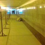 Москва. Бездомные.