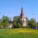 Симоновский монастырь. Солевая круглая башня.