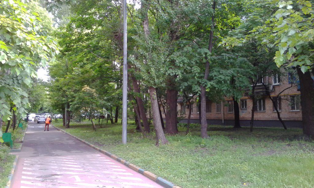 Тихий Московский дворик