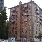 Москва. Дом с печной трубой.