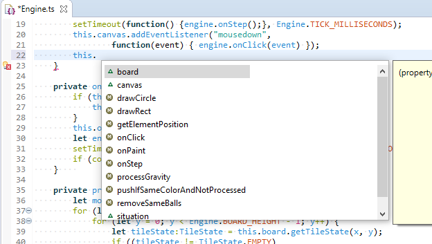 Eclipse TypeScript Syntax Highlighter and autocomplete / авдополнение и подстветка синтаксиса